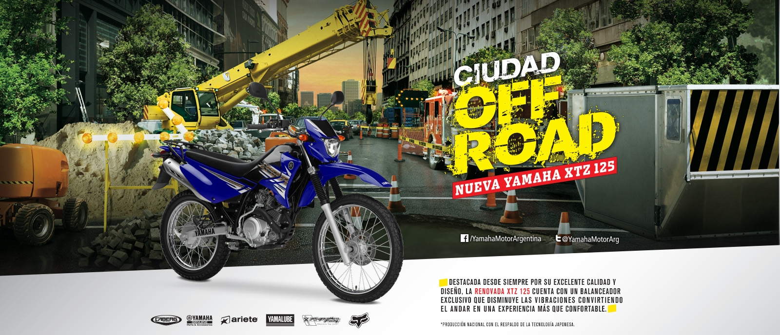 Slide Off Road XTZ